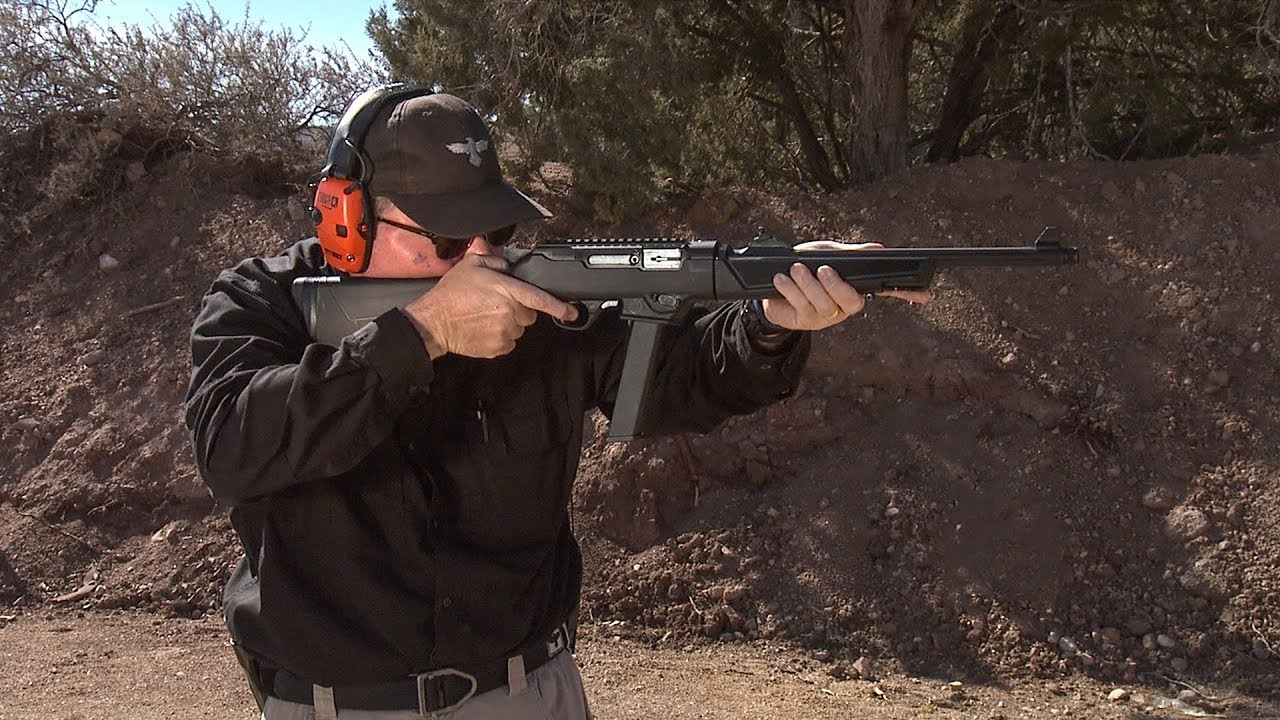 Shooting the Ruger Carbine with Glock 30 Round Magazines #334