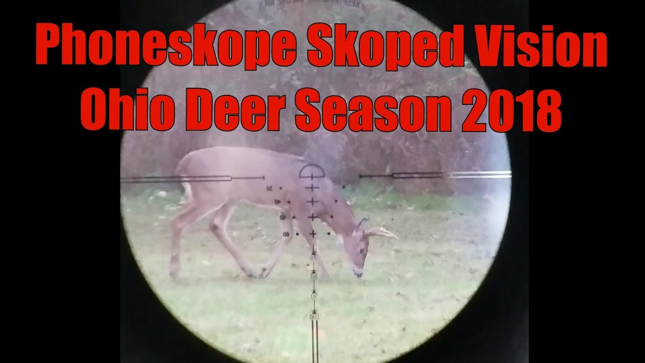 GhostBlind Scorpyd Crossbows PhoneSkope Skoped Vision Ohio Deer Season 2018