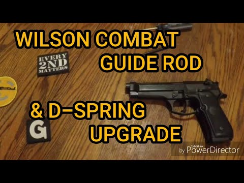 BERETTA 92 Upgrade Wilson Combat Guide Rod and D Spring