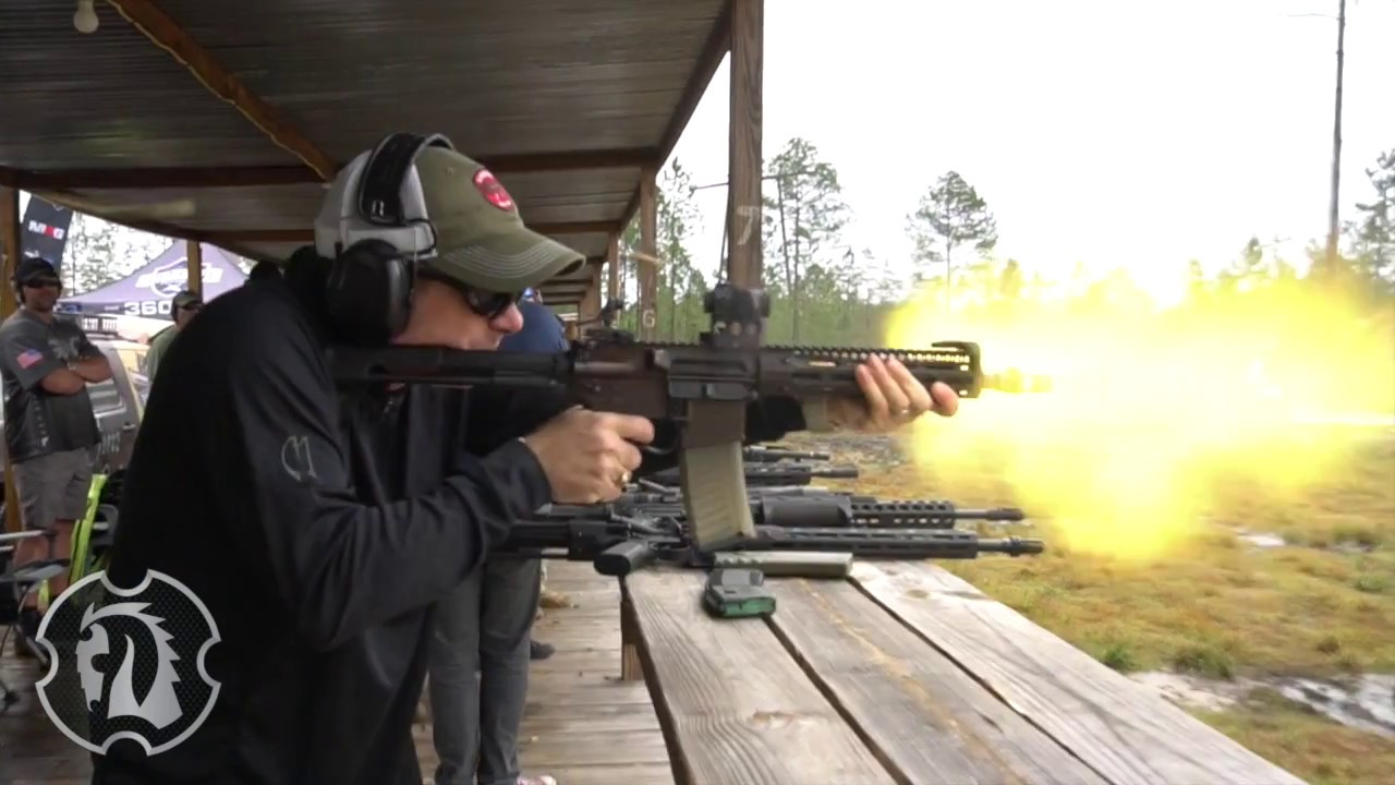 Shooting the Troy SOCC CQB with Steve Troy at #big3east
