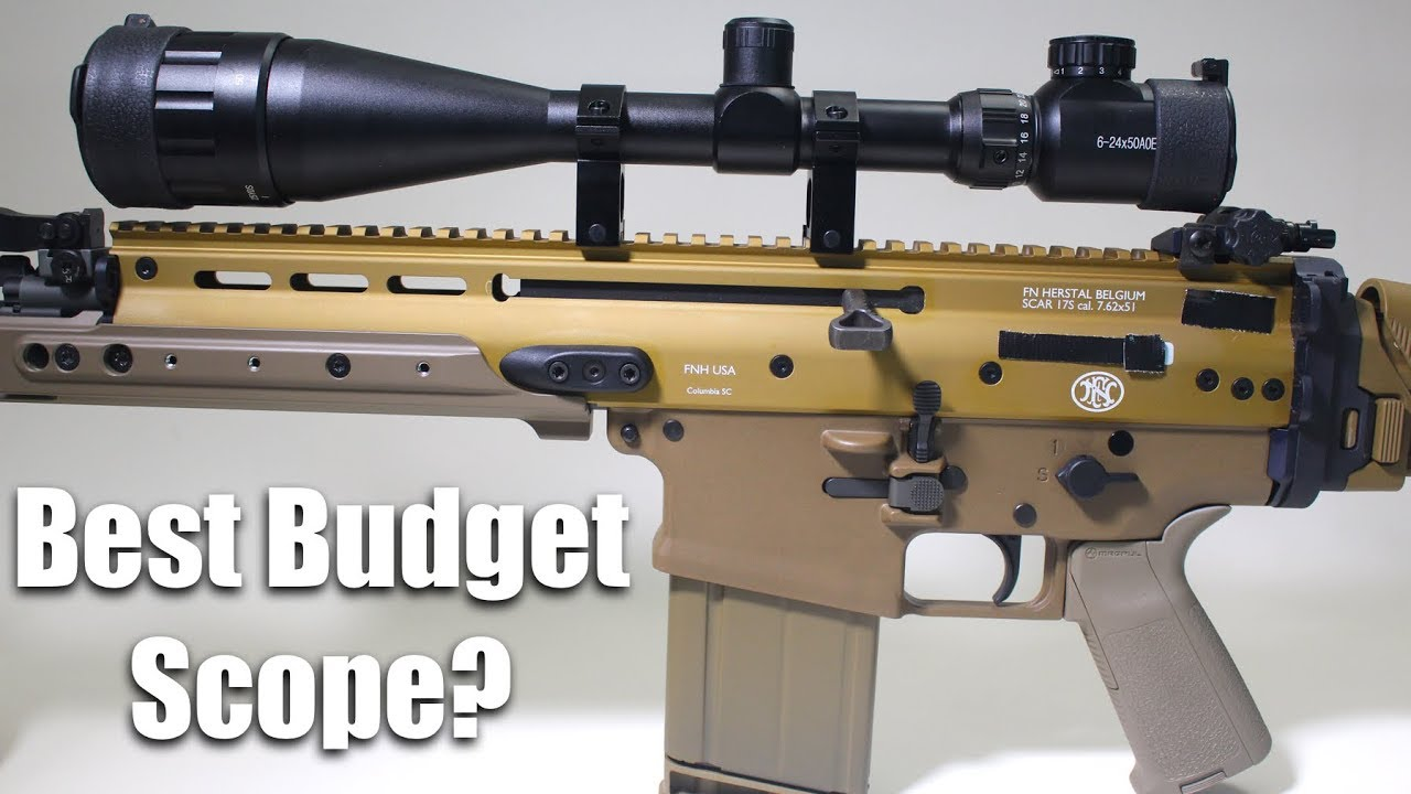 Best Budget Scope? 6-24X50mm Under $40