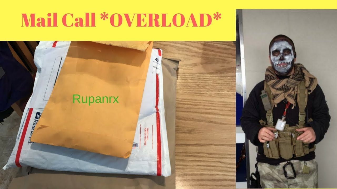 Swag Mail Call *OVERLOAD* live
