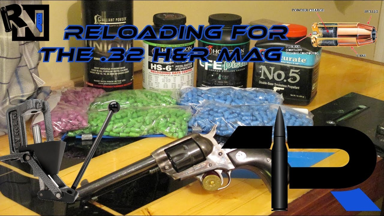 Reloading for the .32 H&R Magnum