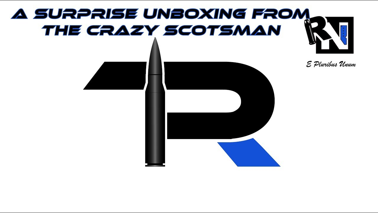 A Surprise Unboxing From The Crazy Scotsman