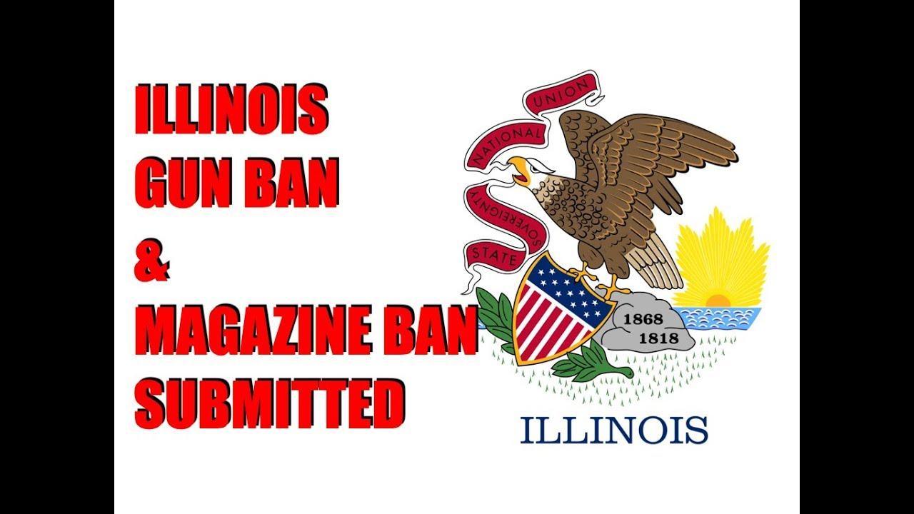 Illinois Gun & Magazine Ban Bill Introduced