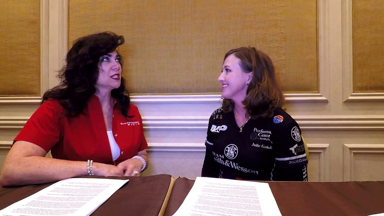 Cheryl Todd Interviews Julie Golob at SHOT Show 2018 about her NRA Board Nomination