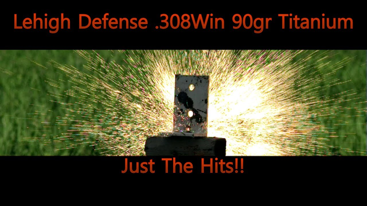 Lehigh Defense  308WIN Close Quarters Aluminum and Titanium Just The Hits