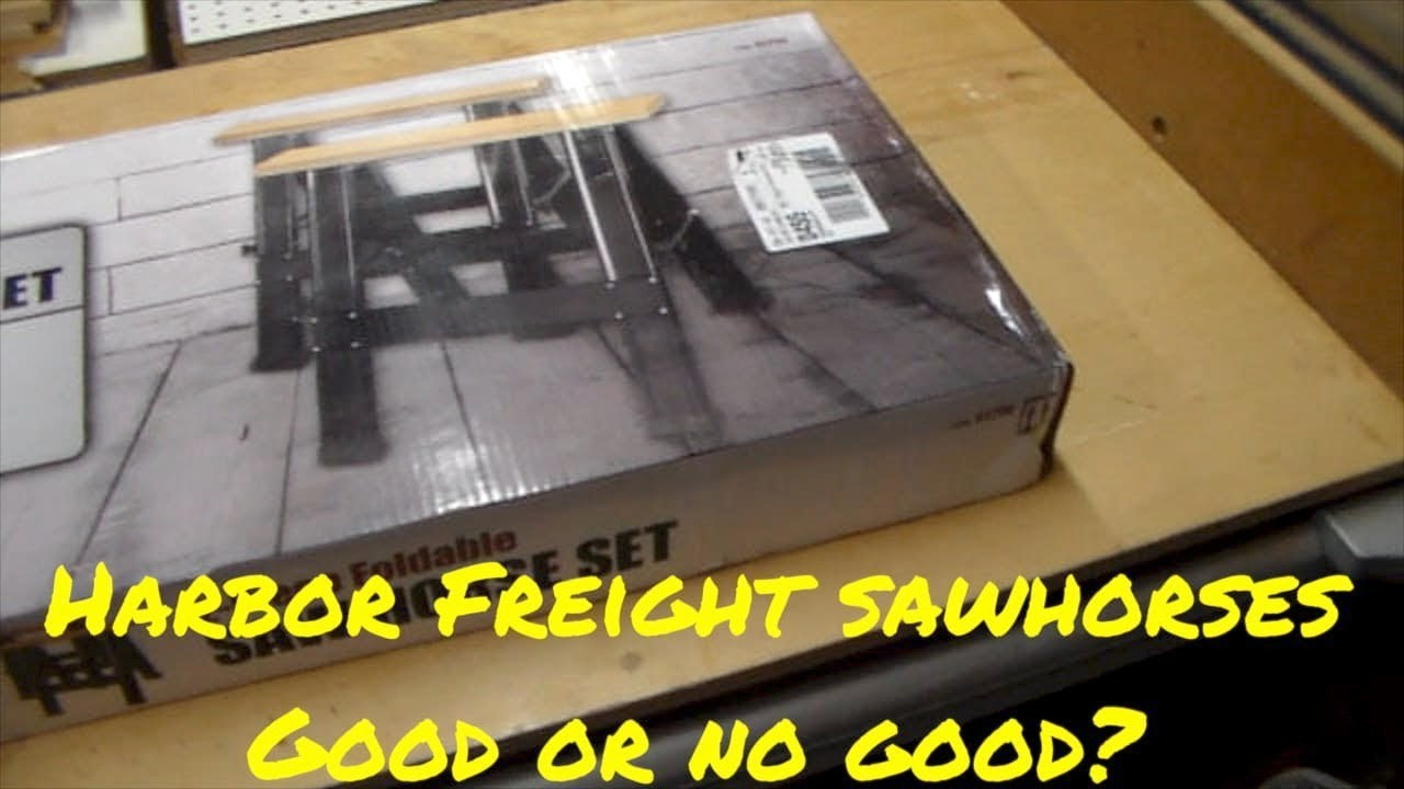 Harbor Freight Sawhorse Review - Go or No Go?