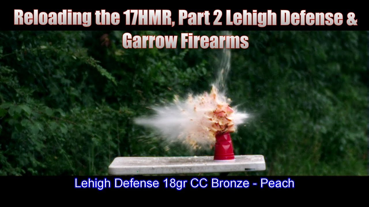 Reloading the 17HMR Part 2, 100 yard Accuracy and High Speed Video
