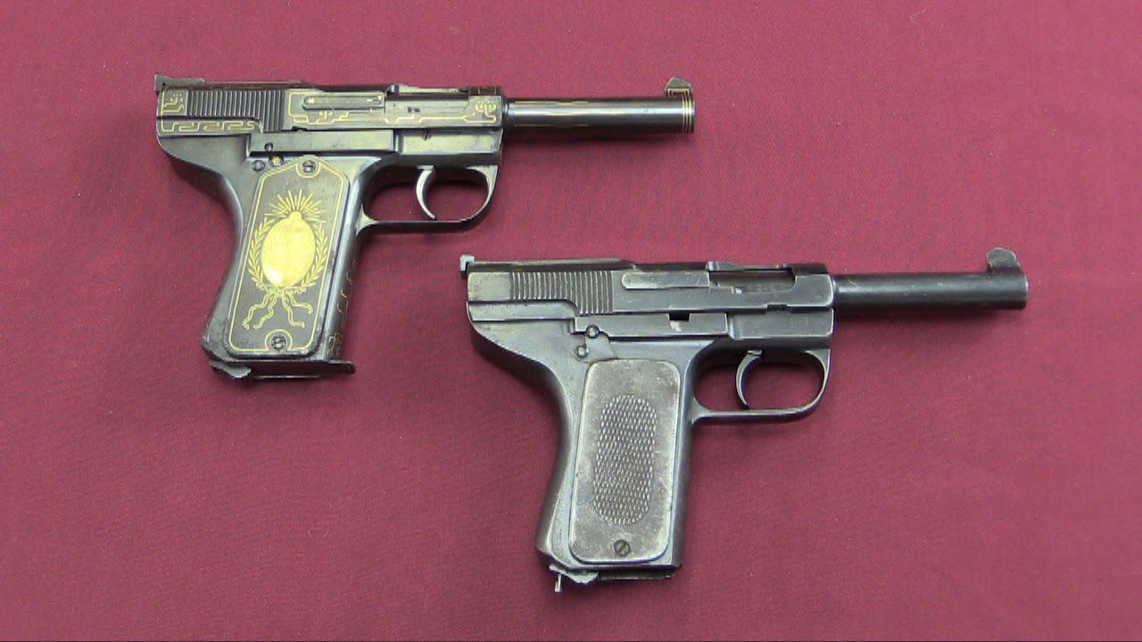Schouboe Prototype .45 Pistols at James D Julia