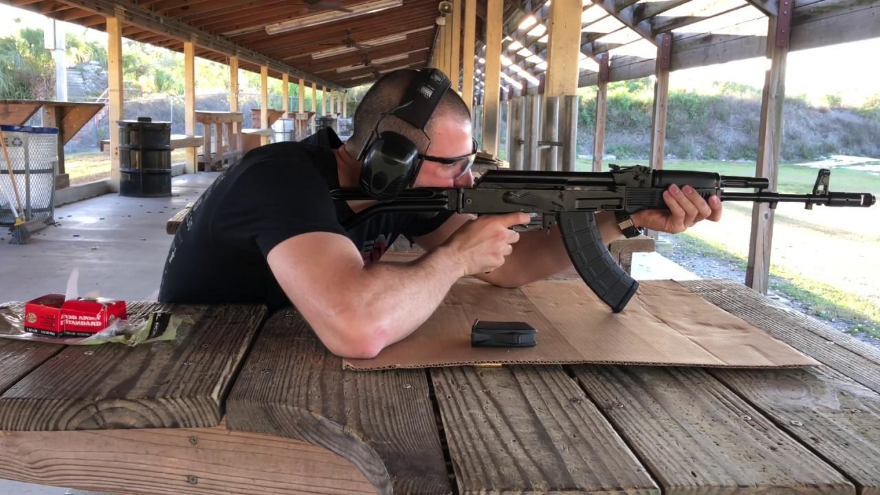 Arsenal SAM7SF AK 47 Accuracy (MUCH BETTER)