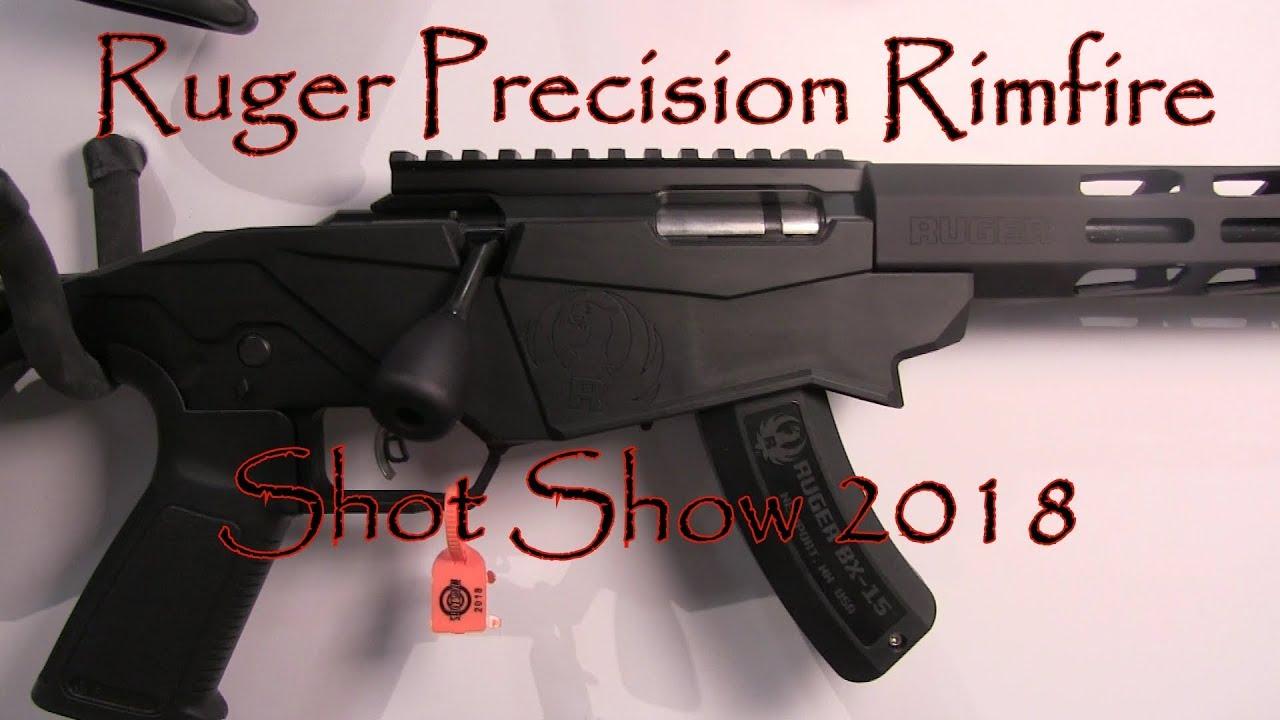 Shot Show 2018 Ruger Precision Rimfire