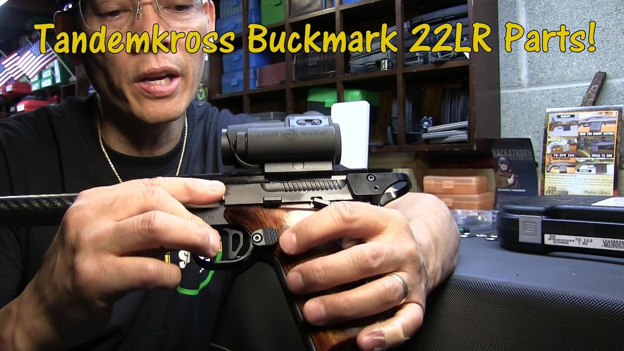 Tandemkross Aftermarket Parts Browning Buckmark 22 LR Pistol
