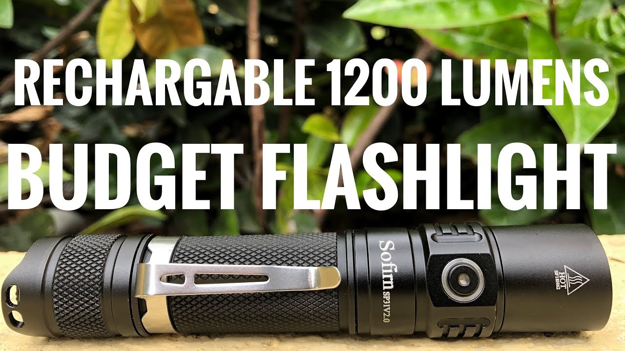 Best Rechargeable Flashlight on a Budget?