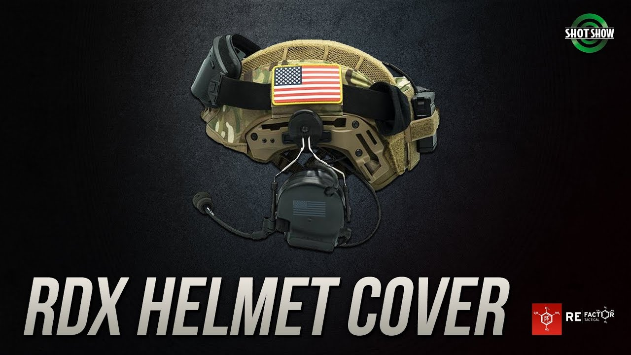 RE Factor RDX Helmet Cover - SHOT Show 2019