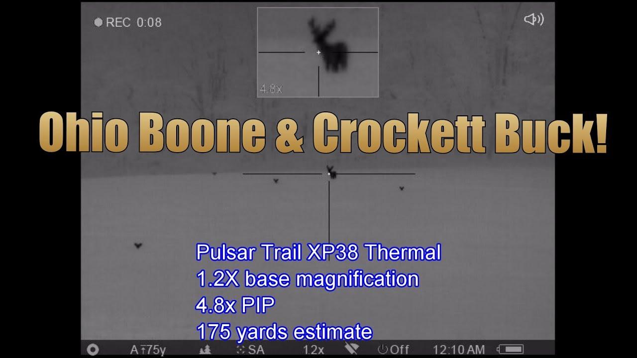 2018 Ohio Boone and Crockett Buck Pulsar XP38 Trail 640 Core Thermal