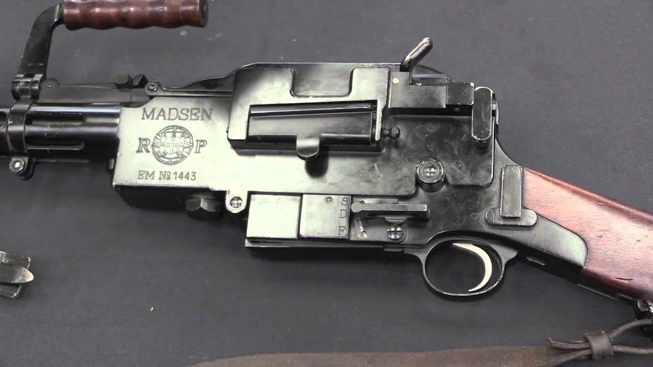 Madsen LMG Disassembly & Functioning