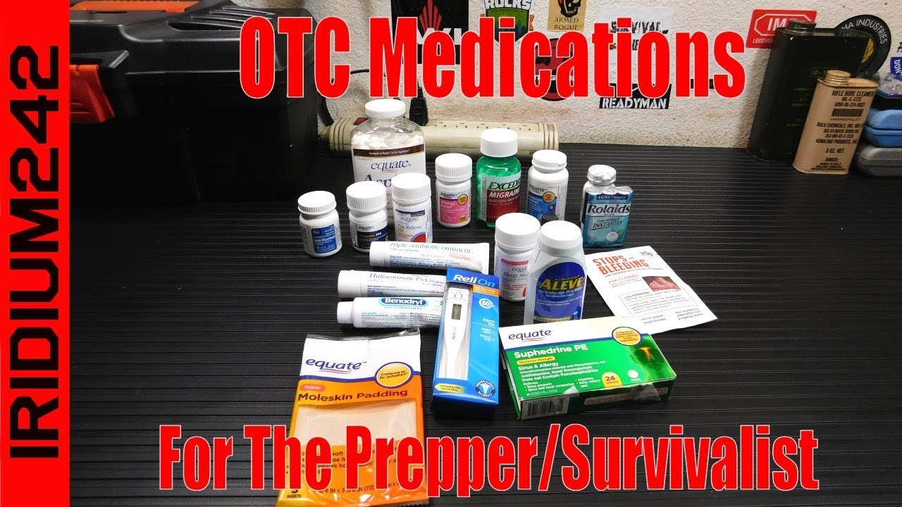 OTC First Aid For Preppers