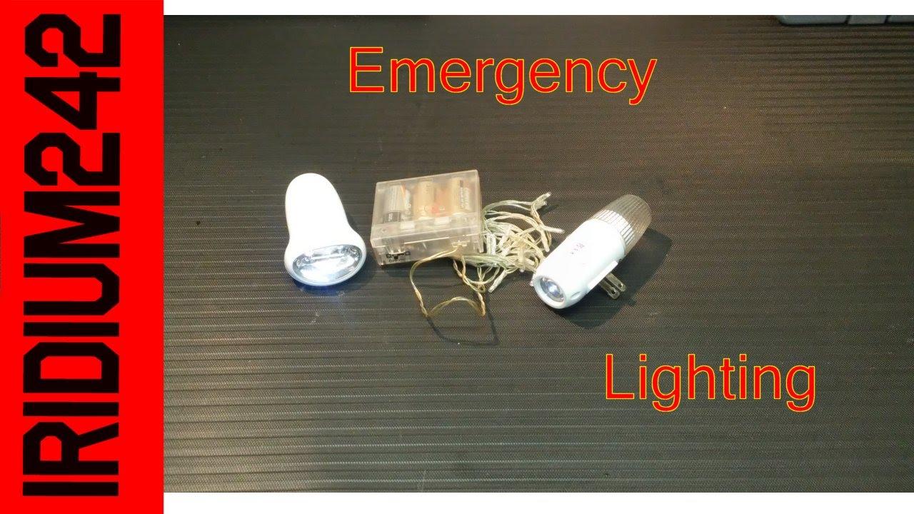 Emergency Lighting Options