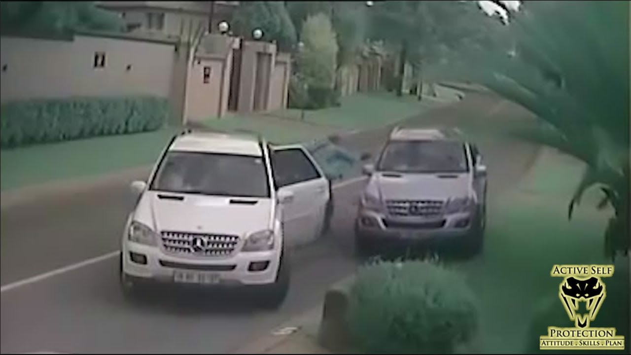 Effective Carjacking Defense Caught on Camera | Active Self Protection
