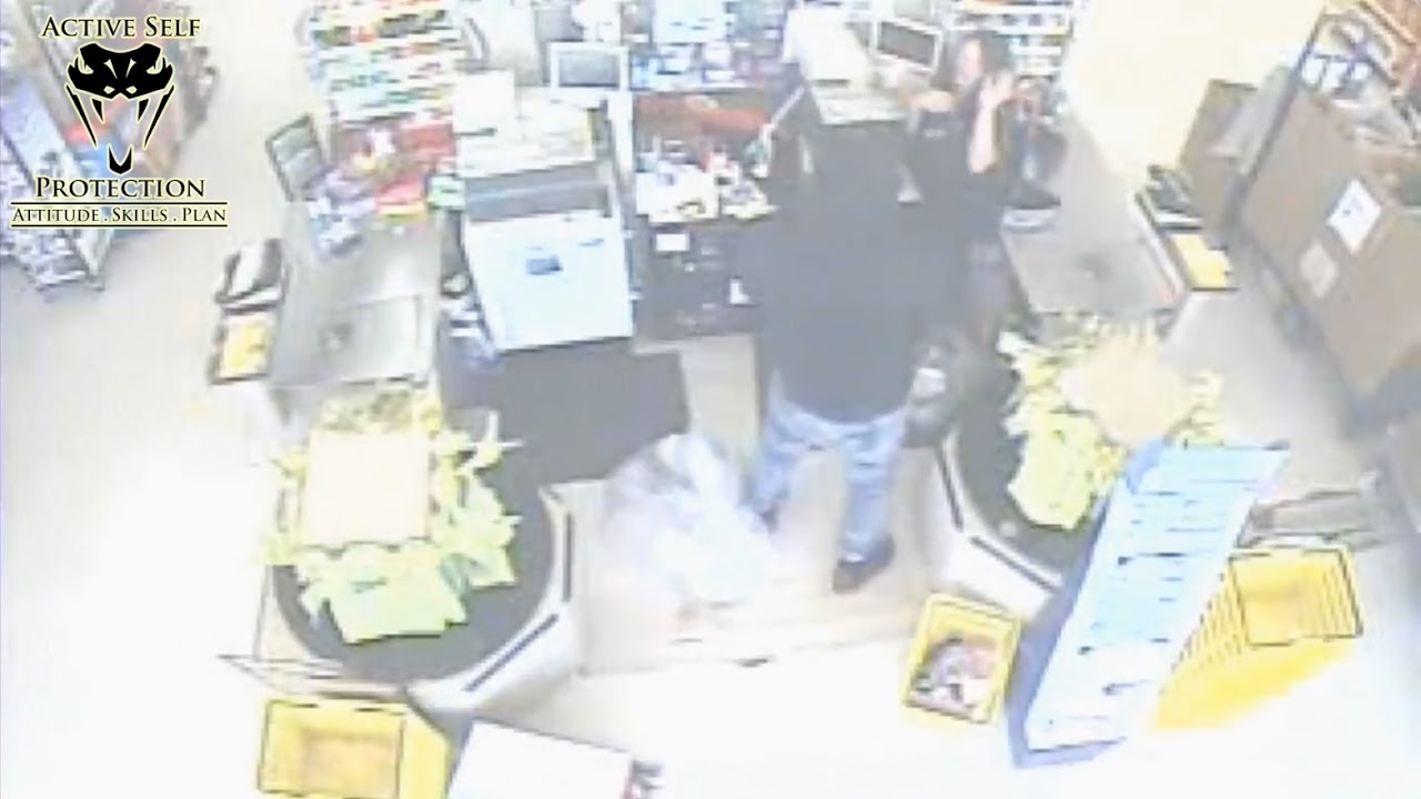 Clerk Beaten and Shot by Armed Robber