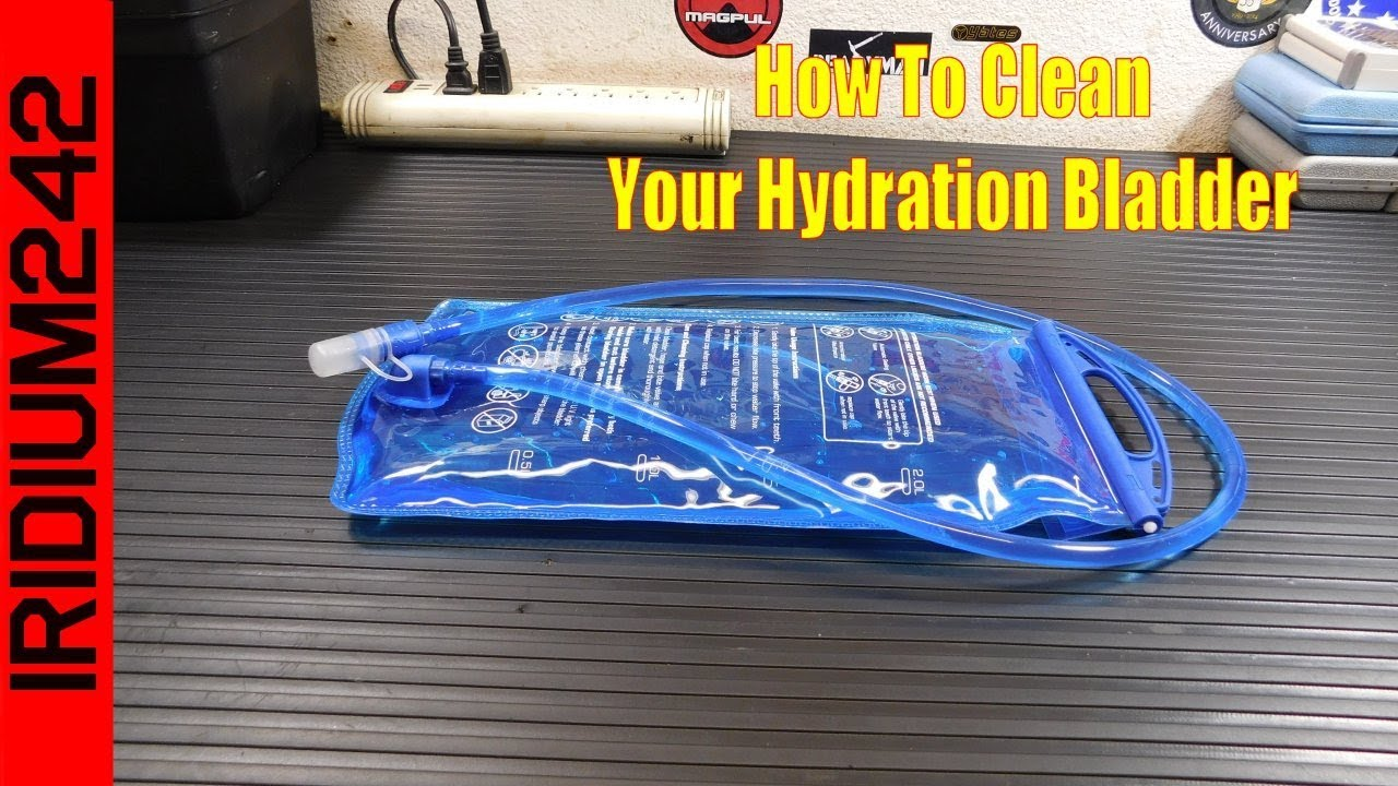 Prepper Tip: Cleaning your hydration bladder