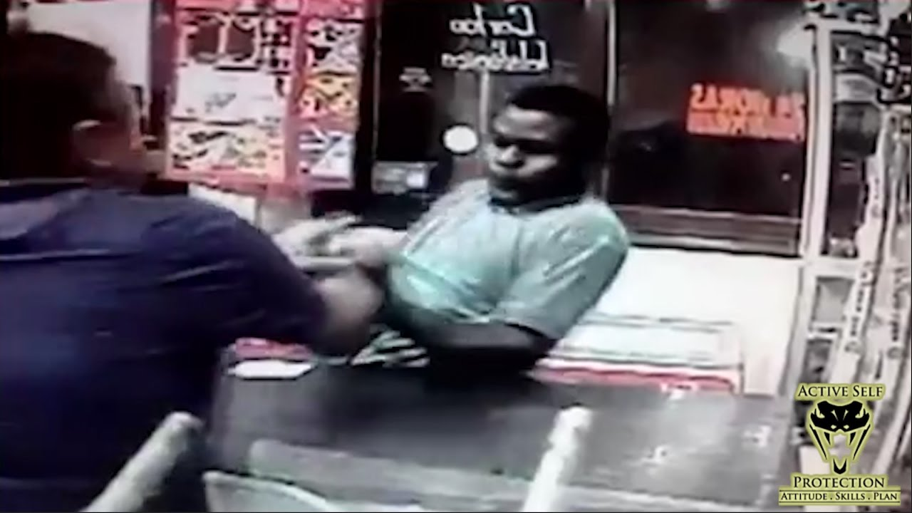 Store Owner Loses Fight with Armed Robber | Active Self Protection