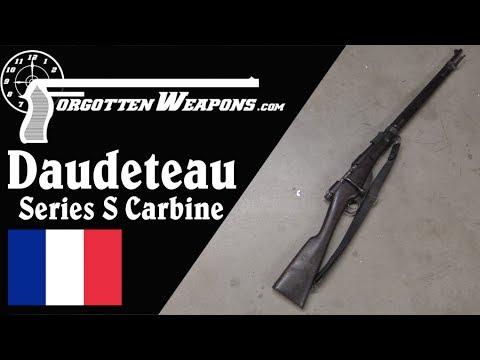 1895 Daudeteau Indochina Trials Carbine