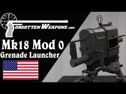 Vietnam Mk18 Mod0 Hand-Crank Grenade Launcher