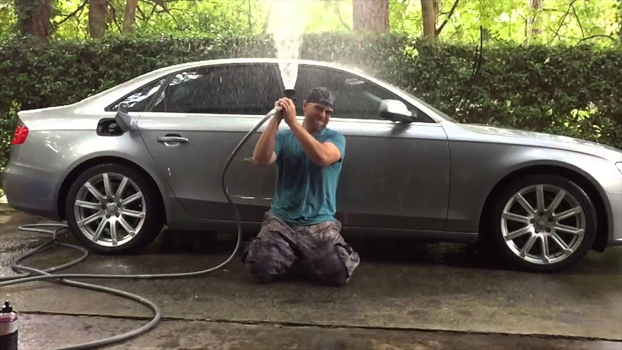 Time To Wash The Audi