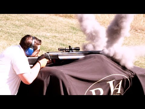 Shooting the .950 JDJ - Largest Sporting Rifle Made