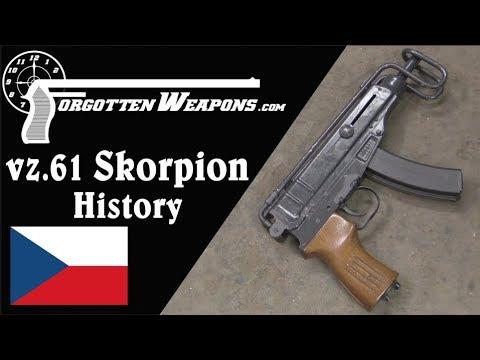 Czech vz61 Skorpion: History and Mechanics