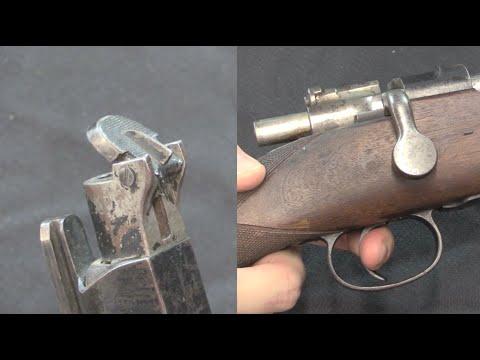 Experimental Muzzle Cover 1893 Mauser