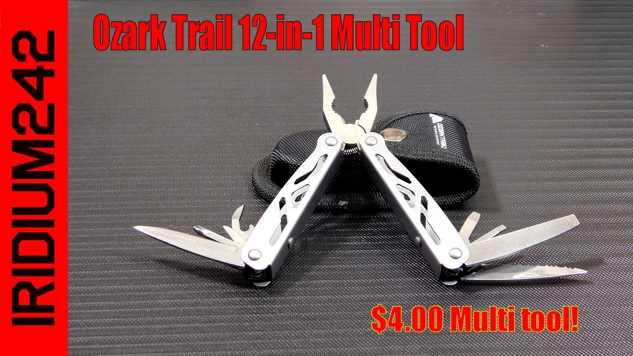 Ozark Trail 12-in-1 Multi Tool: 4 Dollar MultiTool!