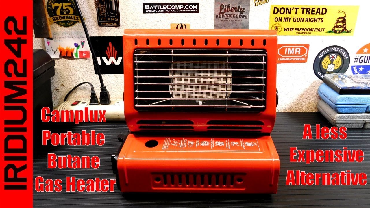 Camplux Portable Butane Gas Heater