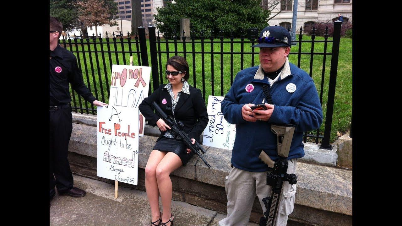 GA Capitol Pro Gun Rally 2-8-2013