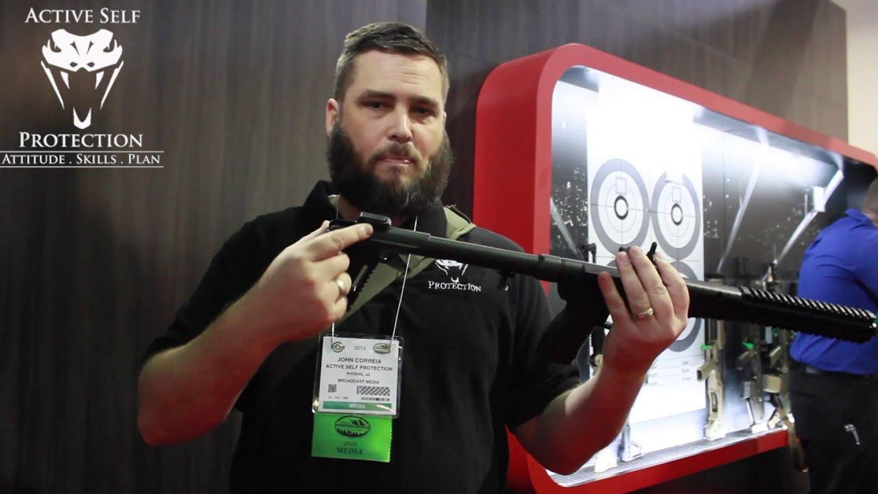 SHOT Show 2015 Product: Kel Tec sub 2000 Gen 2 features