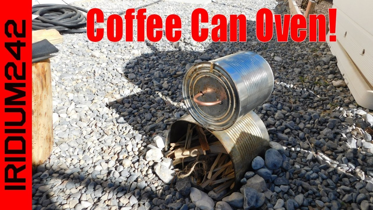 Coffee Can Camp Oven