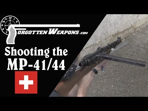 Feeling the Bern: Shooting the Swiss Furrer MP-41/44 SMG