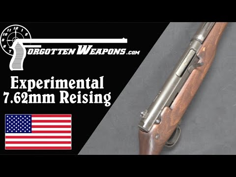 Experimental Reising 7.62mm Full-Auto Battle Rifle