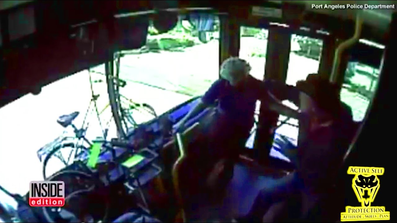 Elderly Woman Attacked on Bus