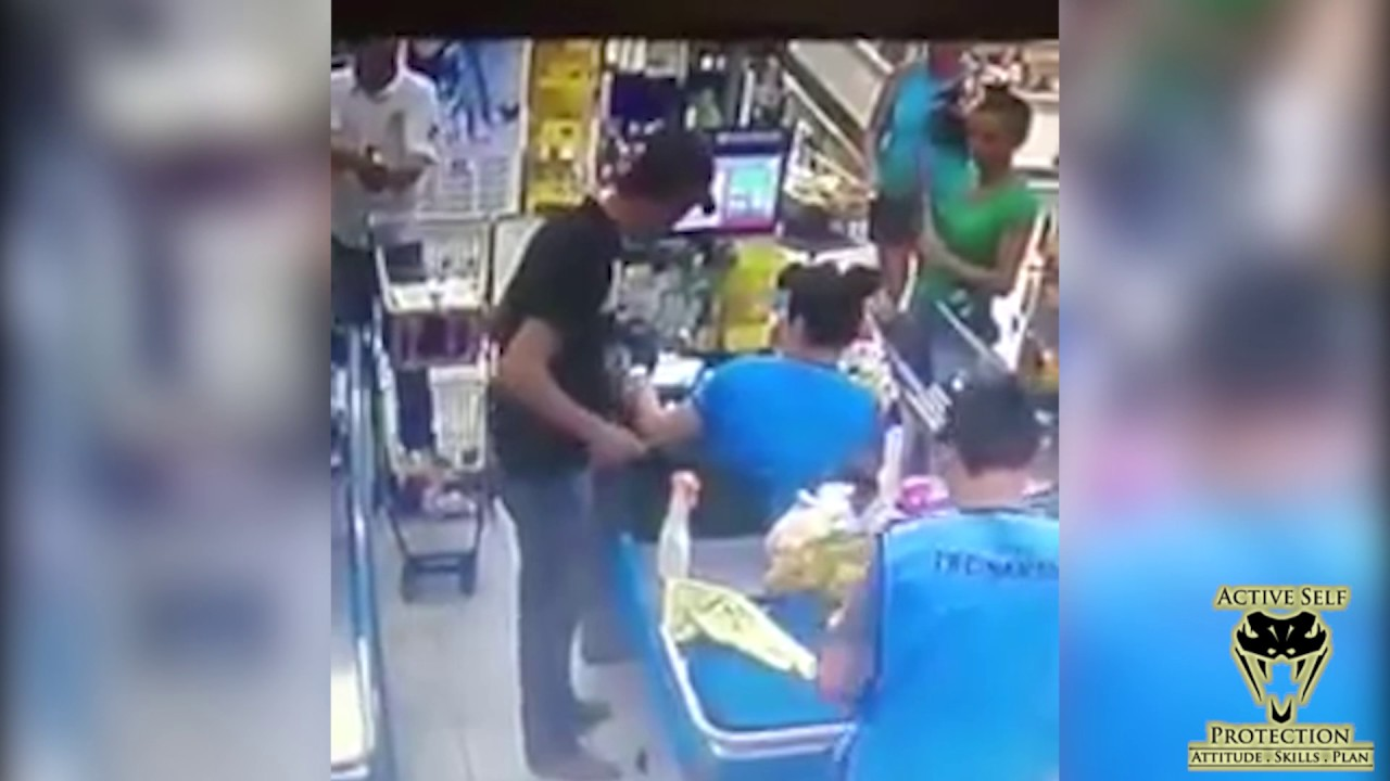 Armed Robber Stopped by Armed Customer | Active Self Protection