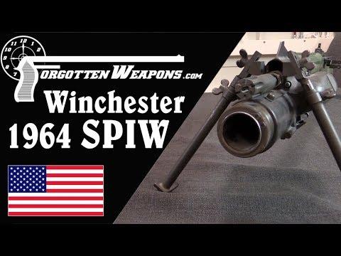 Winchester 1964 SPIW: Flechettes and a Blow-Forward Grenade Launcher