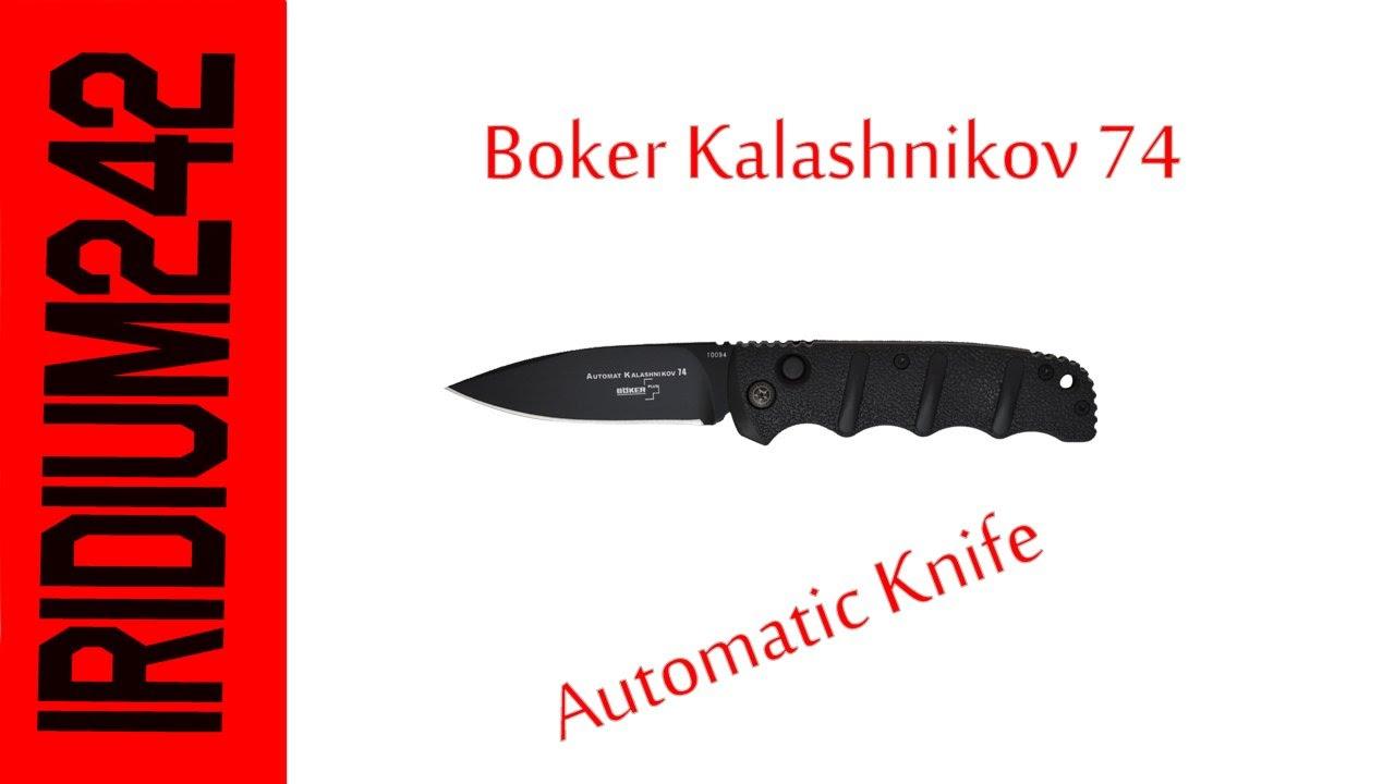 Boker Kalashnikov 74 Auto Knife