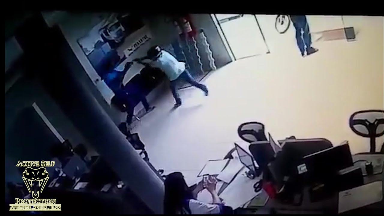 Security Guard Has Deadly Gunfight With Two Armed Robbers