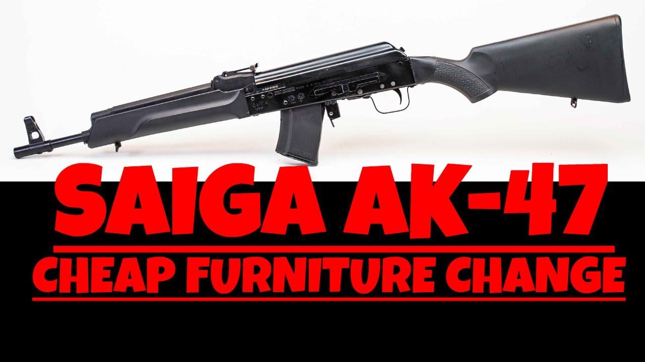 SAIGA AK47 CHEAP FURNITURE CHANGE