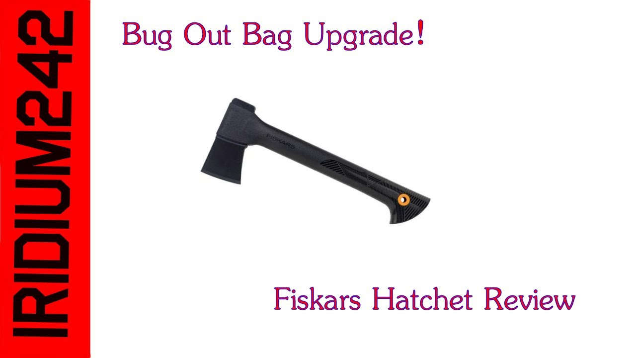 Bug out bag upgrade: Fiskars 14