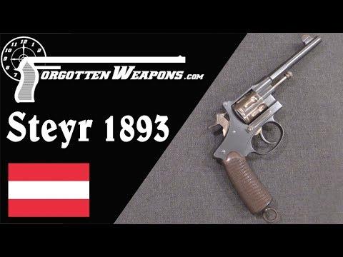 Steyr 1893 Gas-Seal Trials Revolver