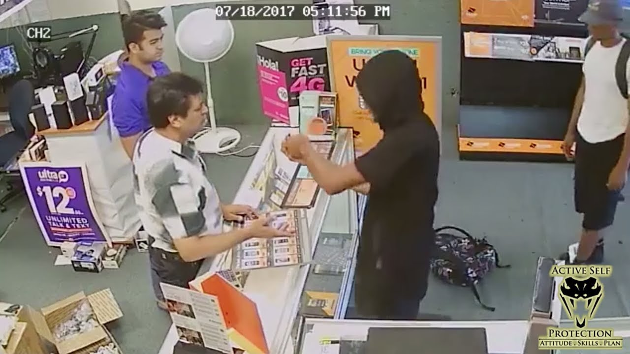 Father-Son Team Takes Huge Risks But Chases Robbers Off | Active Self Protection