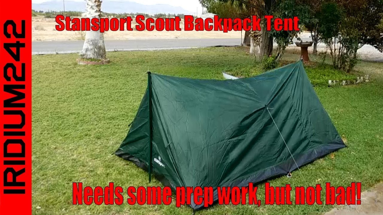 Stansport Scout Backpack Tent: Not Bad After Some Fixes